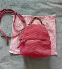 Zara valódi bőr mini táska/hátizsák FOGLALT
