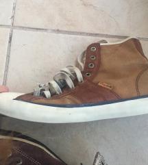 Converse tornacipő eredeti barna hasított bőr