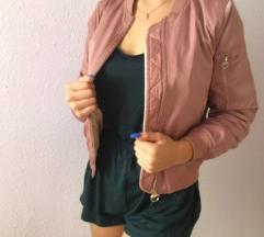 Rózsaszín bomber dzseki