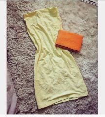 Pasztell sárga Mayo Chix ruha