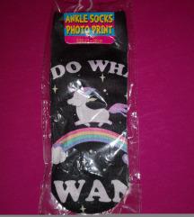 Unikornis zokni