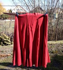 Piros hosszú szoknya