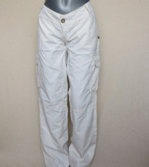 Új Pull&Bear(Xdye) fehér nadrág,hosszúnadrág