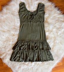 ÚJ Orsay olivazöld nyári ruha