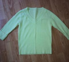Almazöld női pulcsi