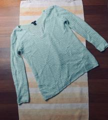Mentazöld kötött pulóver