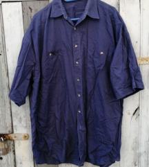 kék férfi ing, NEM cserés