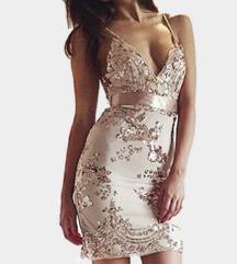 Rosegold flitteres ruha