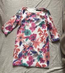 Zara flitteres virágos ruha