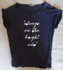 S, 36 - Orsay póló, sötétkék, feliratos