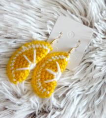 Szuper cuki citromszelet fülbevaló ❤
