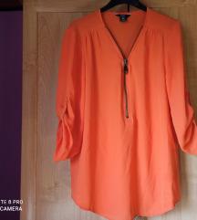 Narancssárga blúz