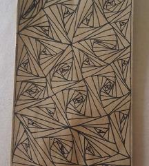 Új, kreatív mintás öko papír zacskó