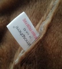 Hasított bőr bunda kabát