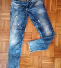 Diesel női szaggatott nadrág W 30 L 32