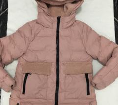 Női téli kabát kapucnis dzseki vadonatúj