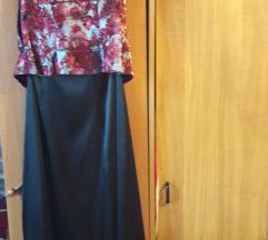 új állapotú gyönyörű szatén alkalmi ruha