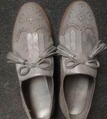 Deichmann ezüstös cipő