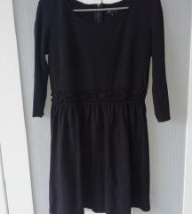 Reserved fekete ruha M-es
