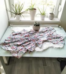 Vintage virágos ruha S 🌸