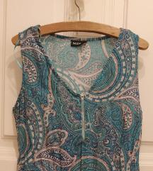 Türkizkék nyári ruha