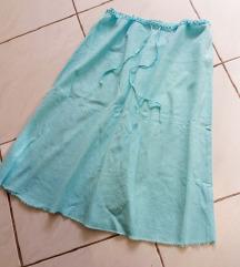 Vintage igazi retro kék szoknya