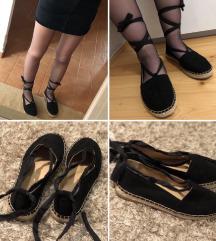 Megkötős balerina cipő