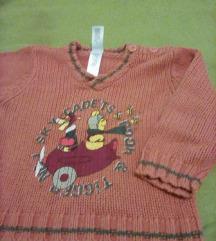 Micimackós pulóver 80
