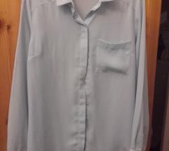 Amisu világoskék ing zsebes