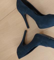 Sotétkèk cipő
