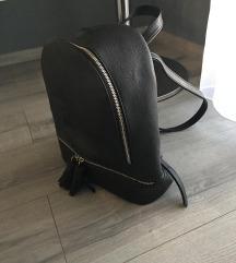 Stradivarius fekete hátitáska