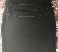 elegáns fekete női szoknya (M)