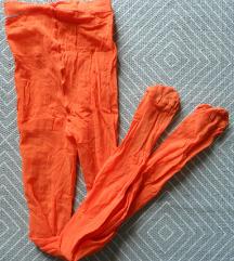 XS, S - Narancssárga nylon harisnya, 20 den