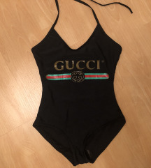 LEÁRAZTAM, Gucci body fürdőruha, M-L méret. új