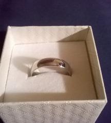 Nemesacél karikagyűrű, tükörfény Méret:59 (ÚJ!)