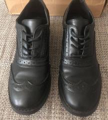 Fekete dandy cipő