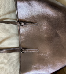 Ezüst nagy pakolós táska