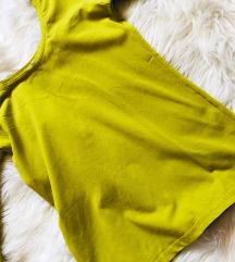 zöld-sárga póló