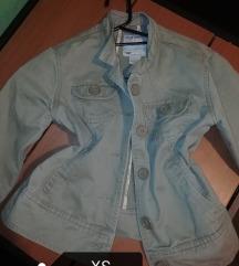 Khaki zöld dzseki