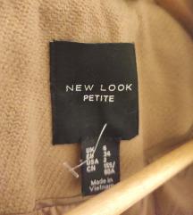 New Look szőrmés szövetkabát