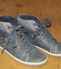 S.Oliver kék magasszárú cipő 37-es