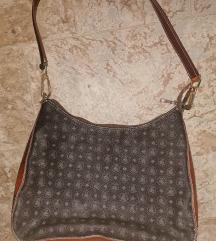 barna-szürke táska