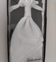 Férfi nyakkendő (fehér) esküvőre