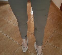 Taupe Skinny nadrág