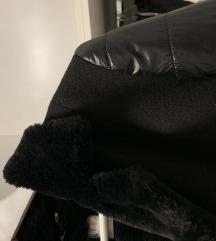 Magenta téli kabát, bunda S1