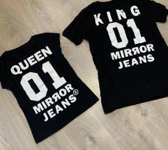 Páros póló Queen &King
