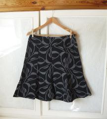 ❤ Újszerű fekete A-vonalú H&M szoknya