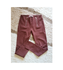 Pull&Bear M-es bordó leggings