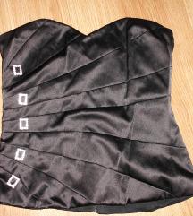 Fekete fűző Select M-es 12-es cipzáros hibátlan