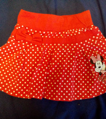 Disney Minnie kislány szoknya 116-os